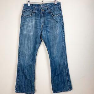 Signature Levi's Strauss Low Boot Cut Denim Jeans